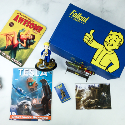 Loot Crate Fallout Crate June 2019 Review + Coupon