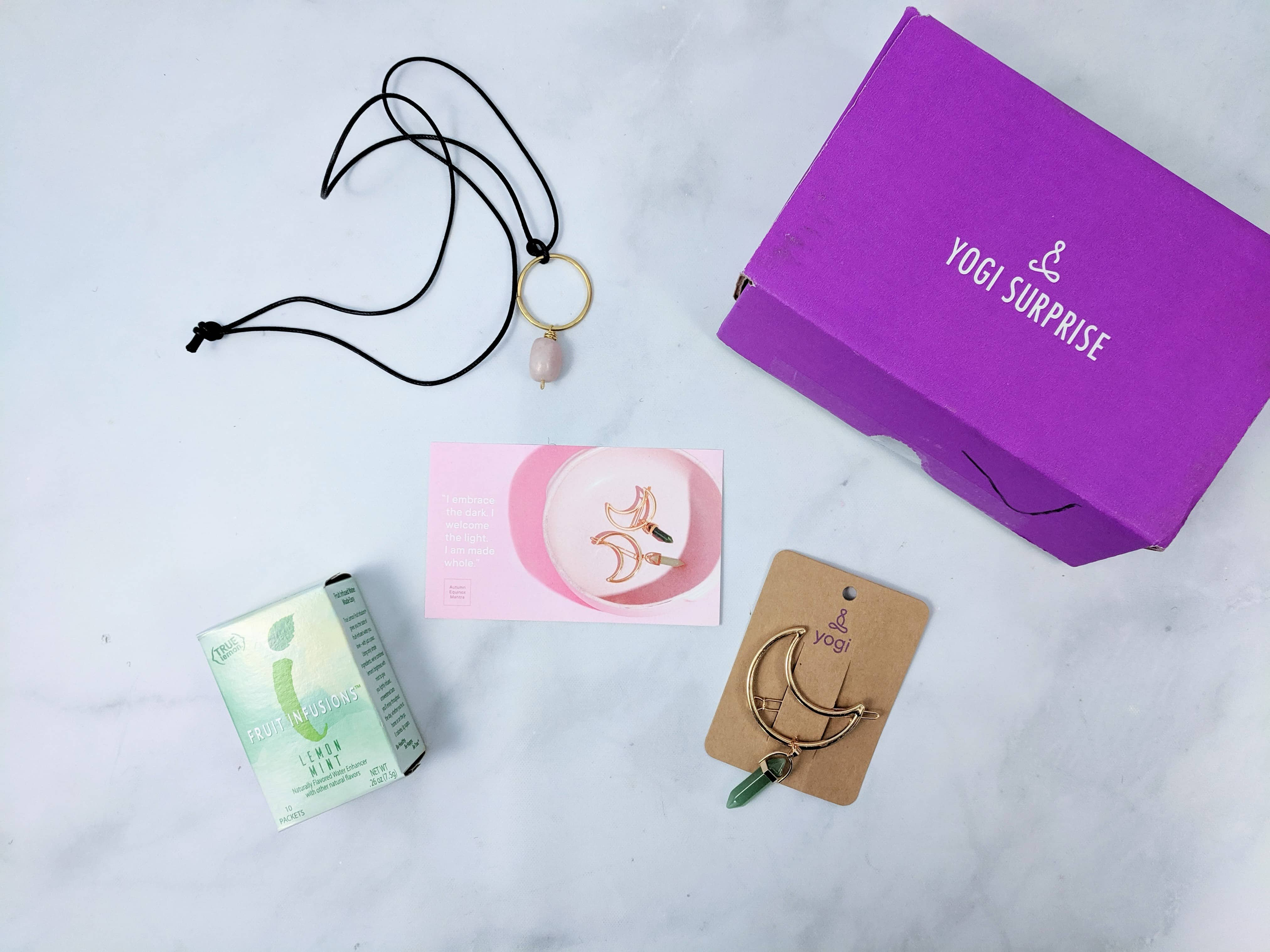 Yogi Surprise Jewelry Box September 2019 Subscription Review + Coupon
