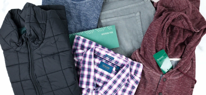 Stitch Fix Men October 2019 Review