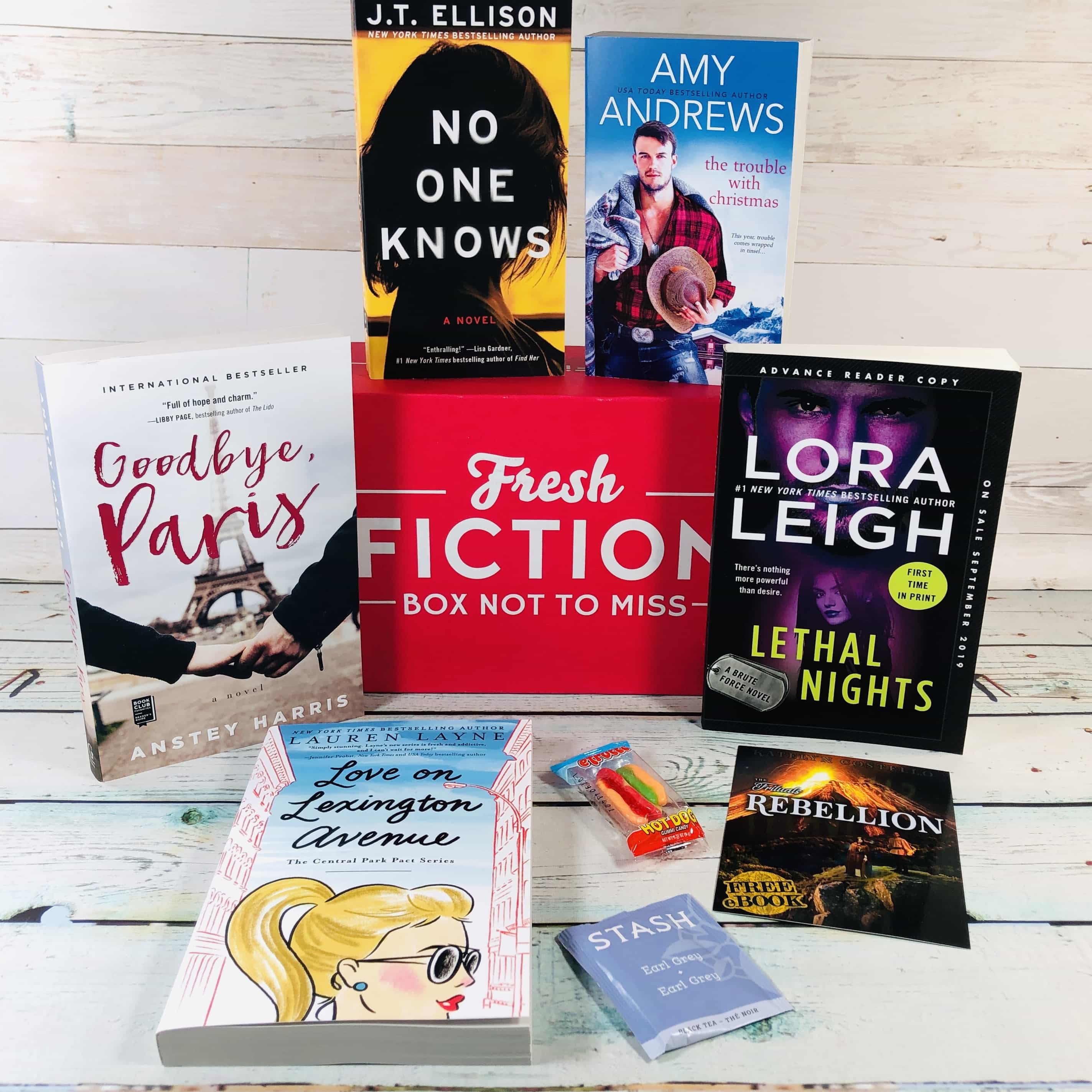 Fresh Fiction Box October 2019 Subscription Box Review + Coupon