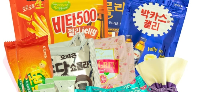 Korean Snack Box October 2019 FULL Spoilers + Coupon!
