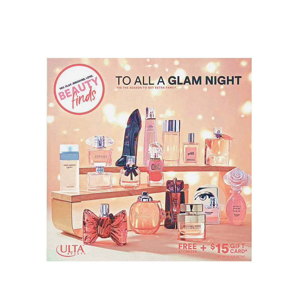 New Ulta Sample Kit Available Now – To All A Glam Night Set!