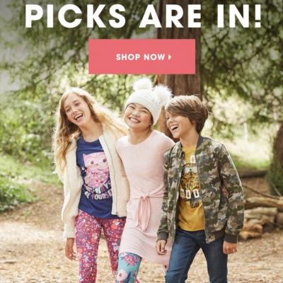 FabKids October 2019 Collection + Coupon!
