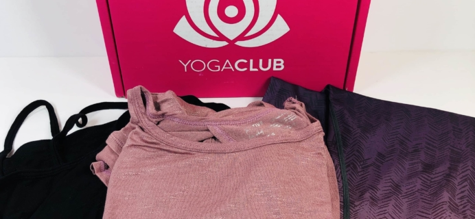 YogaClub Subscription Box Review + Coupon – September 2019 Plus Size