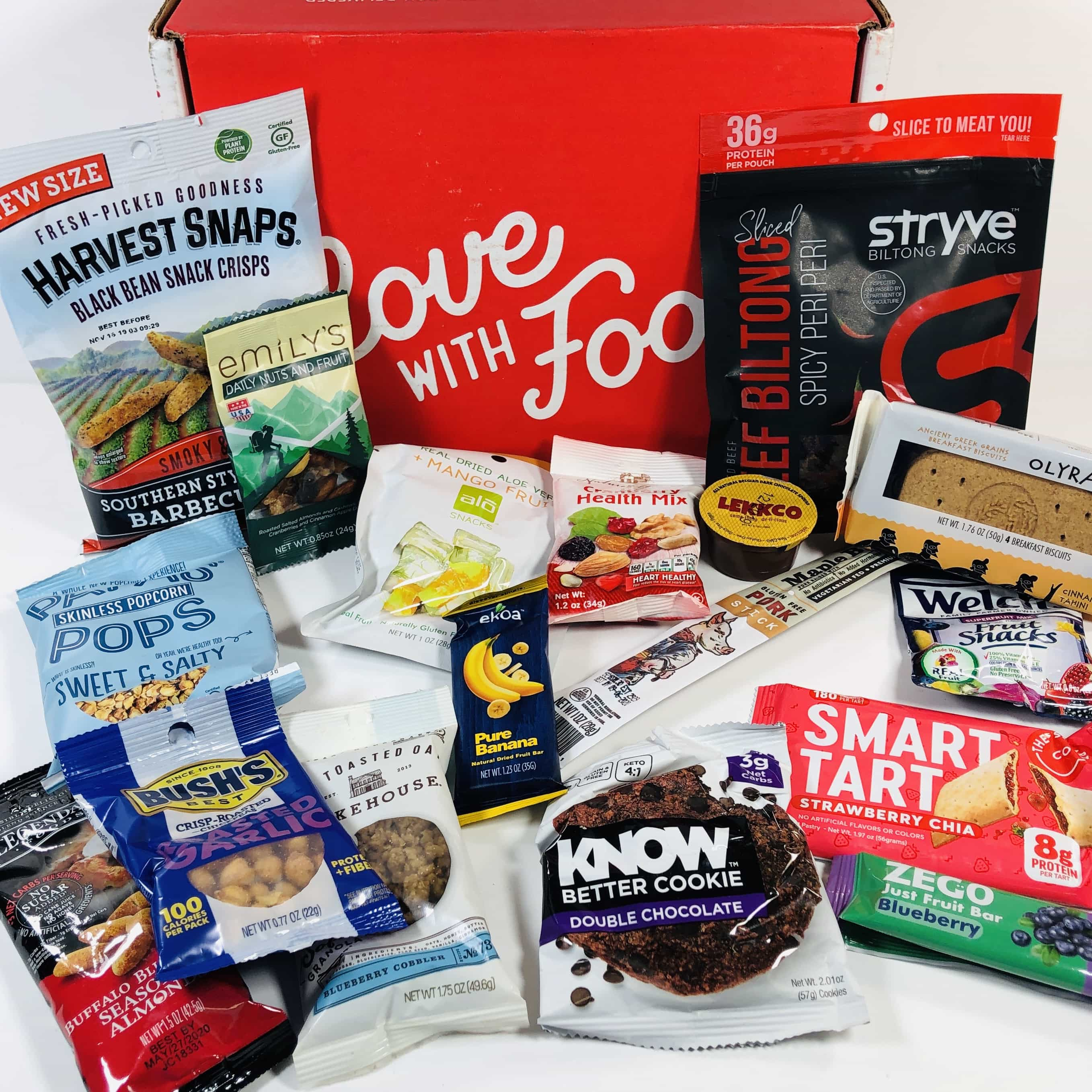 Love With Food September 2019 Deluxe Box Review + Coupon!