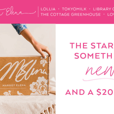 Margot Elena Discovery Box Subscription Update!