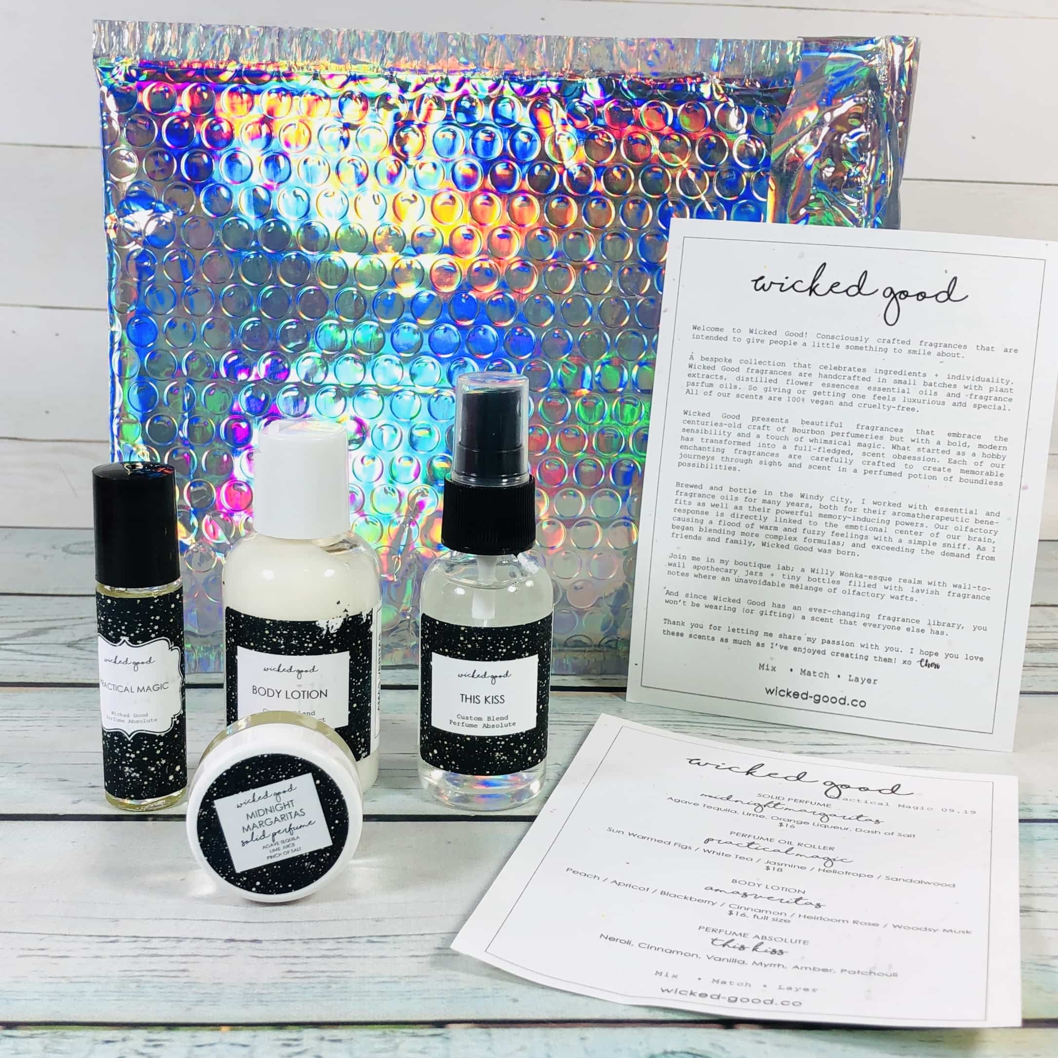 Wicked Good Perfume September 2019 Subscription Box Review