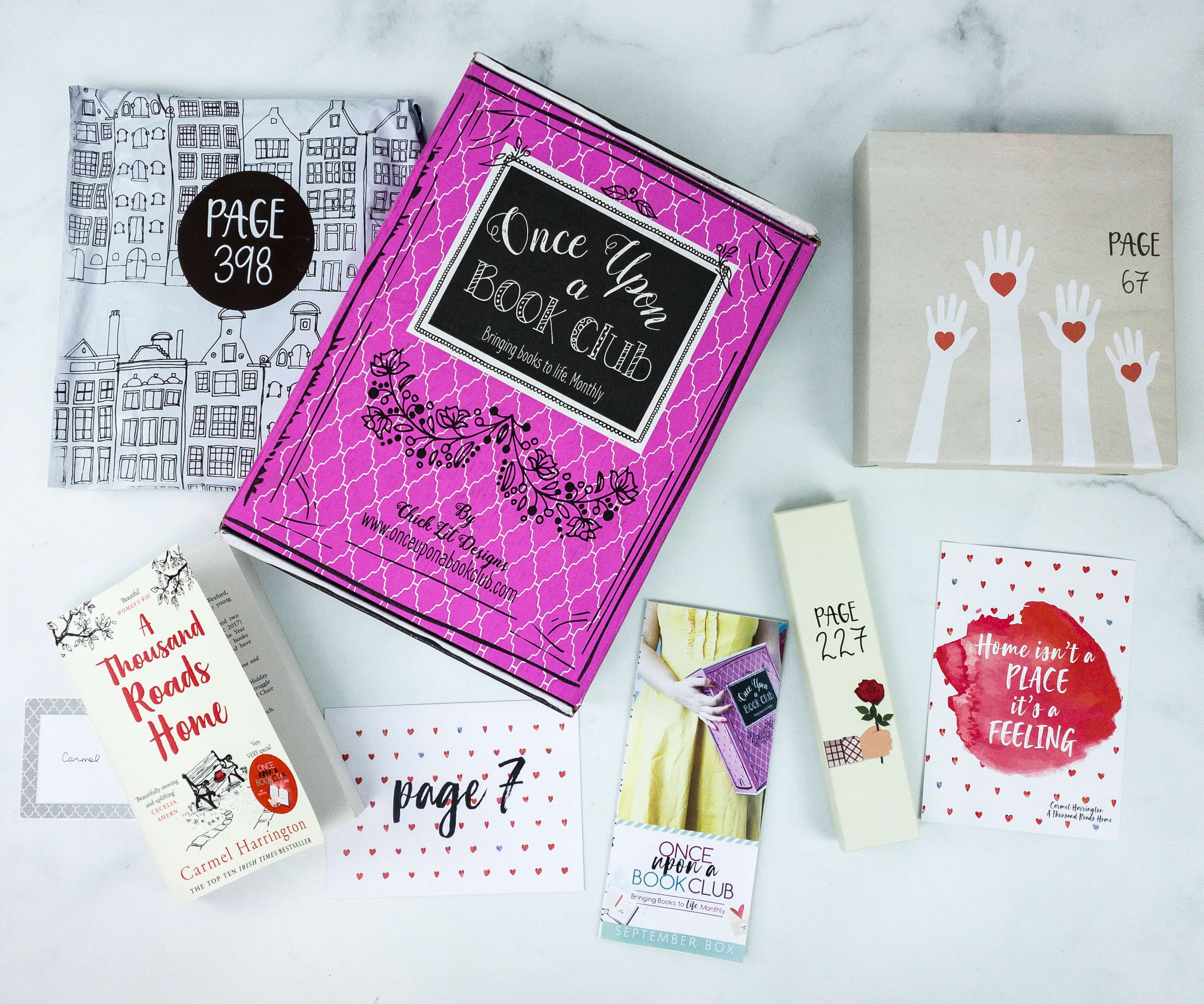 Once Upon a Book Club September 2019 Subscription Box Review + Coupon – Adult Box