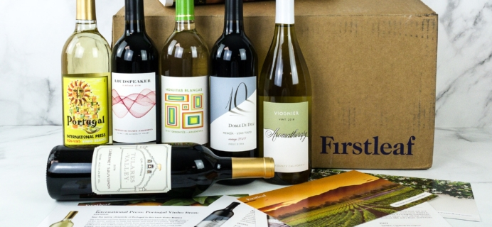 Firstleaf Wine Club October 2019 Subscription Box Review + Coupon