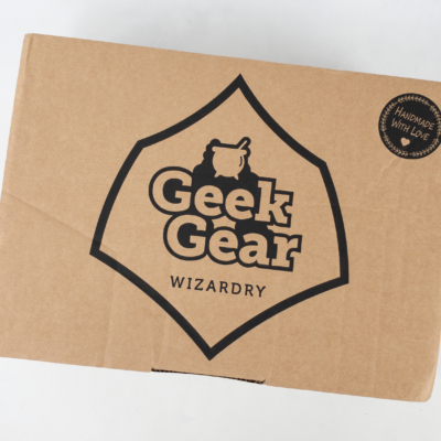 Geek Gear World of Wizardry September 2019 Subscription Box Review & Coupon