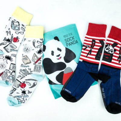 Sock Panda Tweens September 2019 Subscription Review + Coupon