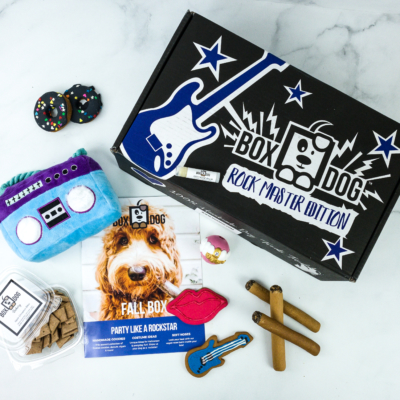 BoxDog Fall 2019 Subscription Box Review + Coupon