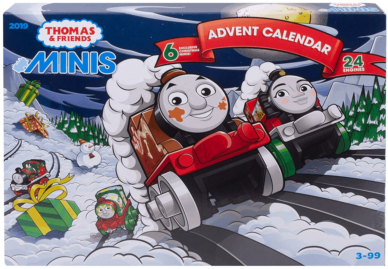 2019 Fisher-Price Thomas & Friends MINIS Advent Calendar PRICE DROP!