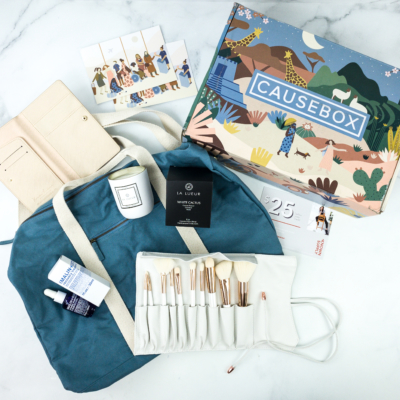 CAUSEBOX Fall 2019 Subscription Box Review + Coupon