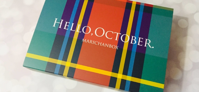 MarichanBox October 2019 Subscription Box Review + Coupon