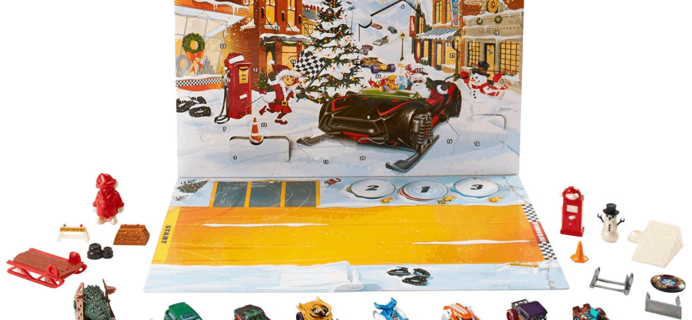 2019 Hot Wheels Advent Calendars Available Now!