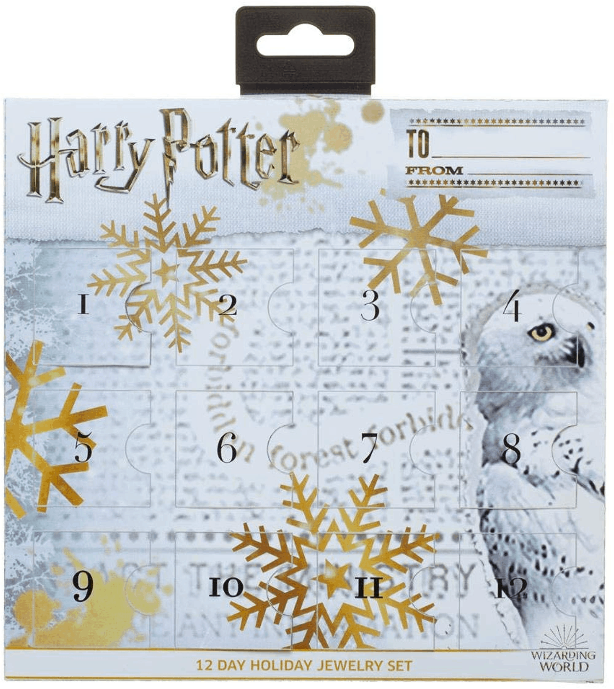 2019 Harry Potter Jewelry Advent Calendar Available Now!