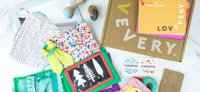 Baby Play Kits by Lovevery Subscription Box Review + Coupon – The Charmer!