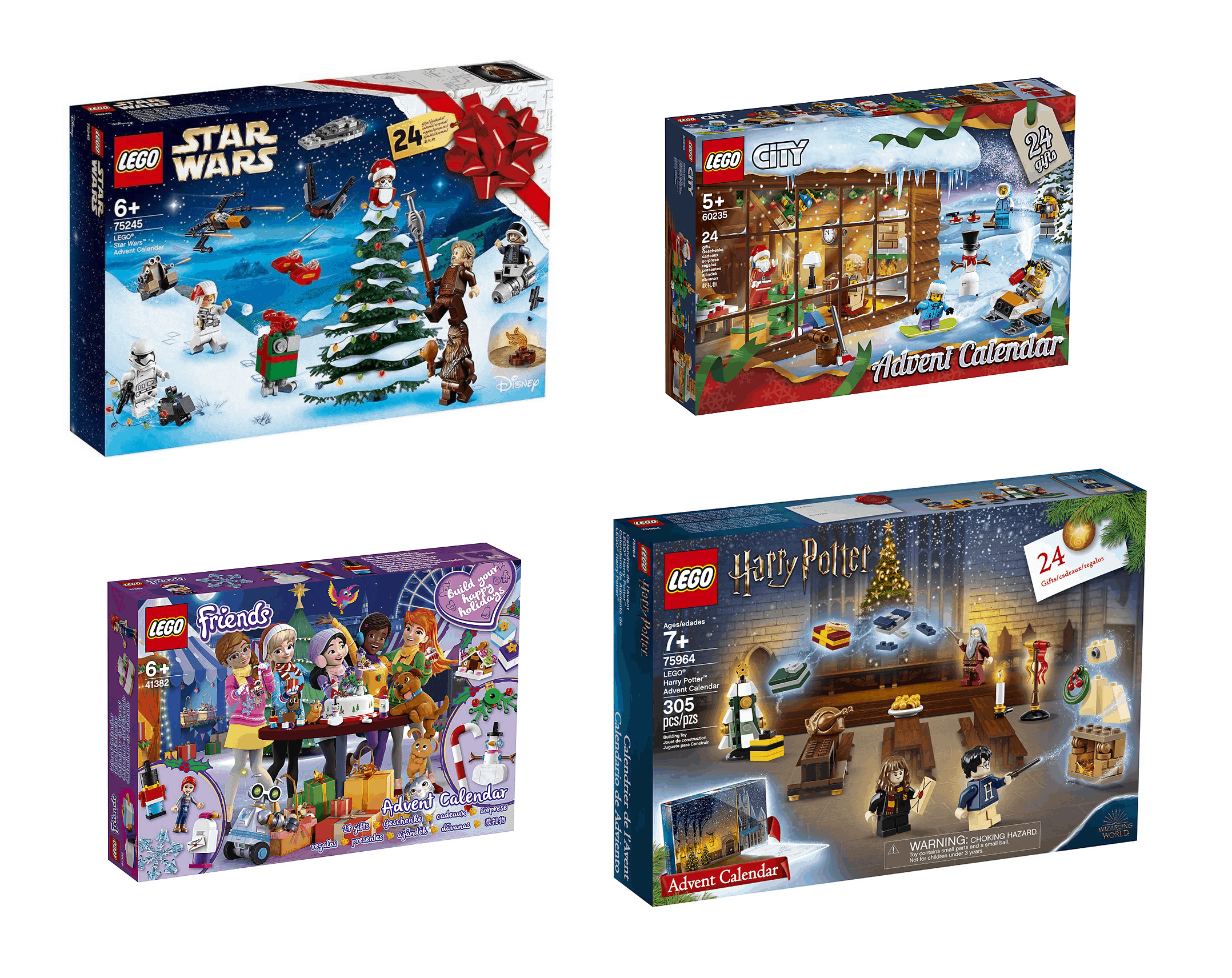 Calendrier Avent Lego Star Wars 2019.2019 Lego Advent Calendars Available Now Full Spoilers