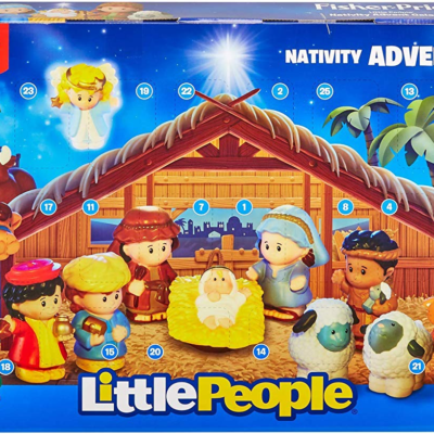 Little People Nativity Advent Calendar Available Now!