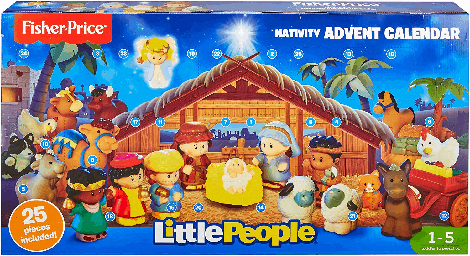 Little People Nativity Advent Calendar $24.99 TODAY ONLY!
