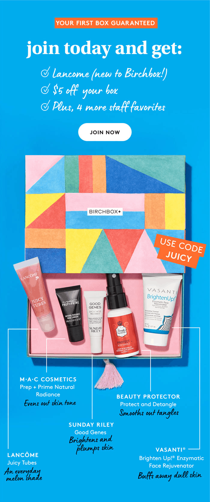 Birchbox Coupon: Start Your First Box With The Staff Favorites Box + $5 Off!
