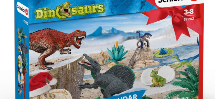 Schleich Dinosaurs Advent Calendars 2019 $16.99 TODAY ONLY!
