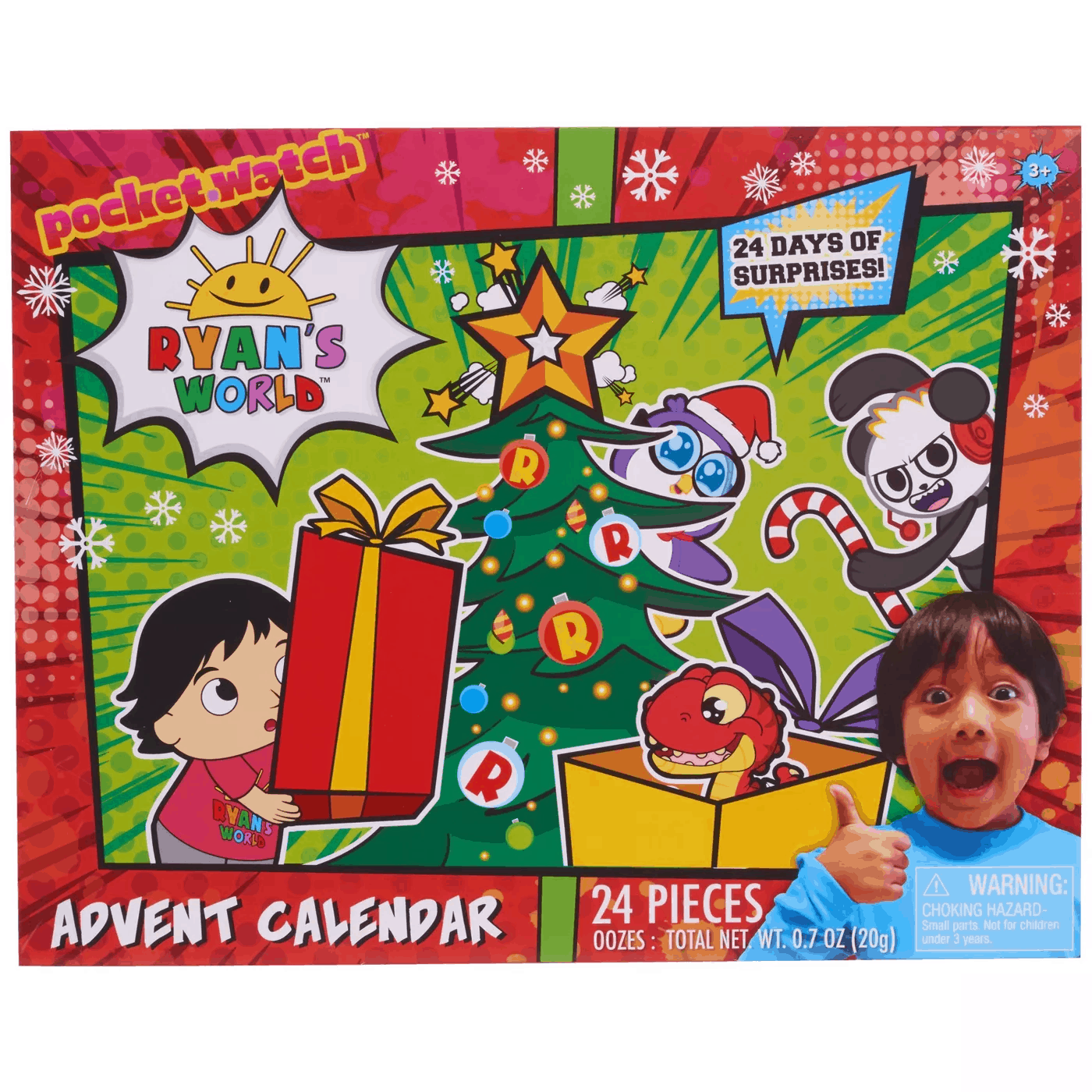 2019 Ryan's World Advent Calendar Available Now!