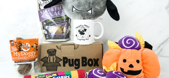 Pug Box September 2019 Subscription Box Review + Coupon!