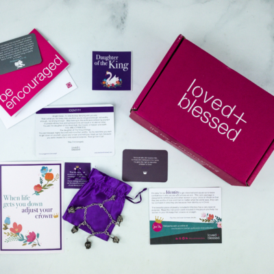 Loved+Blessed October 2019 Subscription Box Review + Coupon
