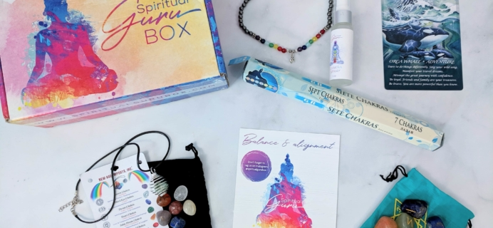 Spiritual Guru September 2019 Subscription Box Review