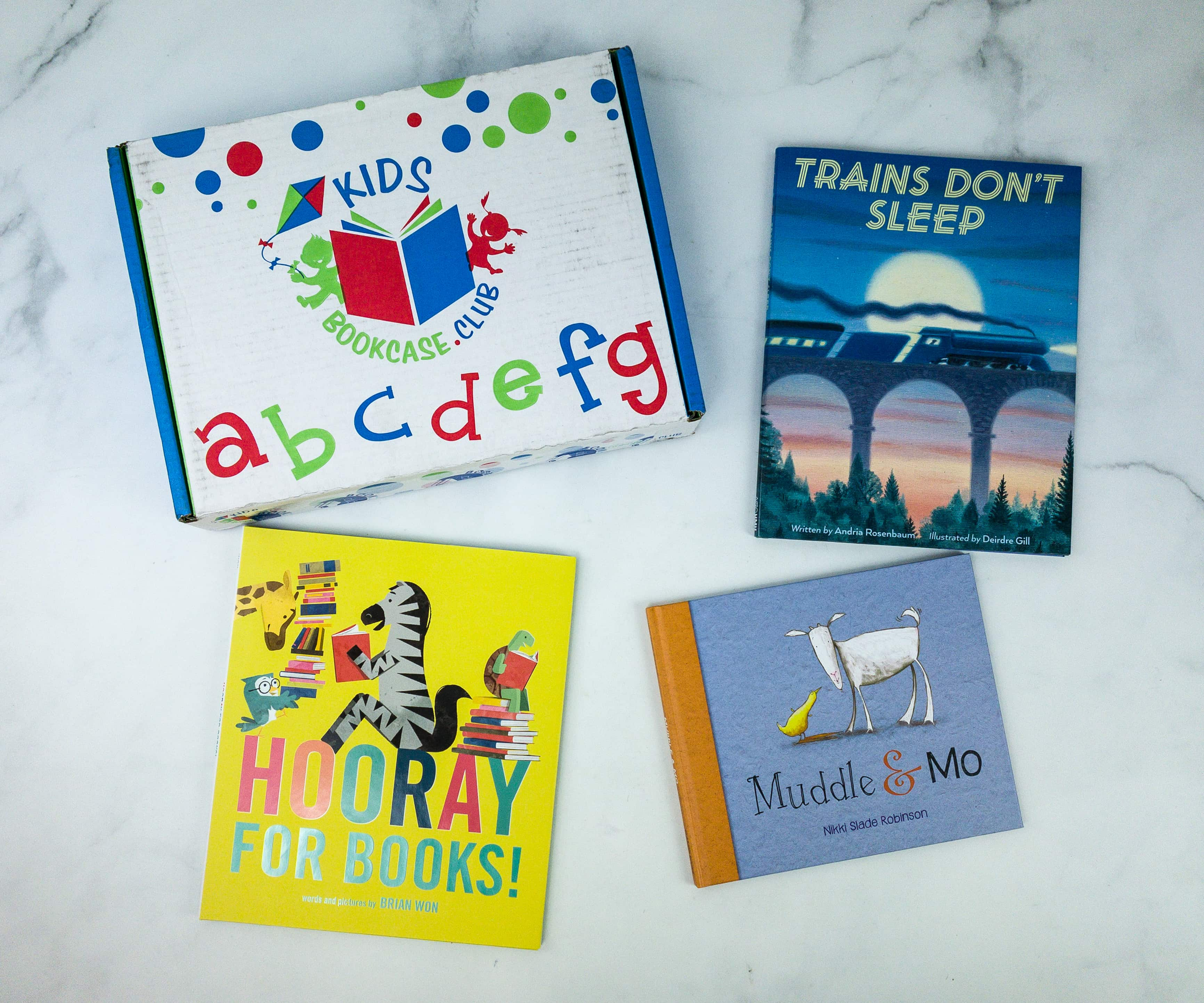 Kids BookCase Club October 2019 Subscription Box Review + 50% Off Coupon! 2-4 YEARS OLD