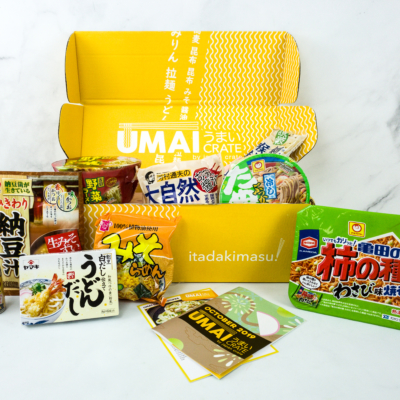Umai Crate October 2019 Subscription Box Review + Coupon
