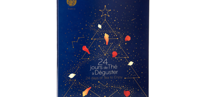 2019 Palais de Thes Tea Advent Calendar Available Now!