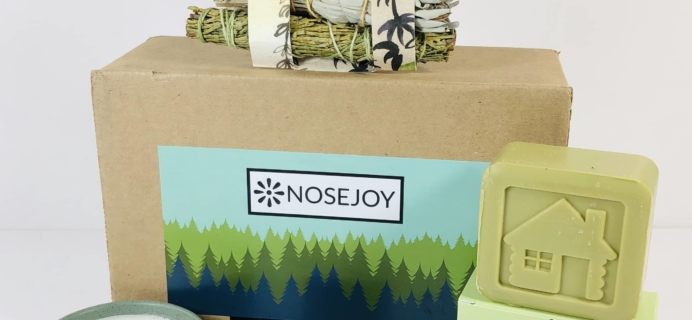 NOSEJOY September 2019 Subscription Box Review + Coupon!