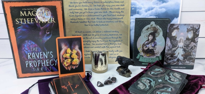 Mysteries of the Tarot Subscription Box – October 2019