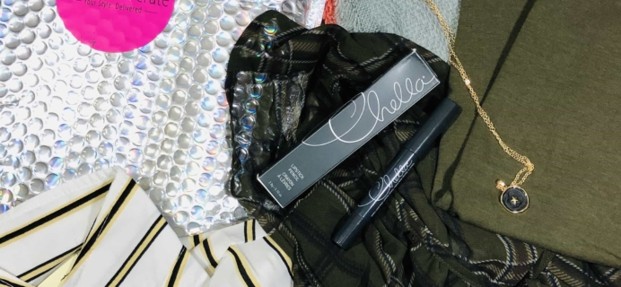 My Fashion Crate October 2019 Subscription Box Review