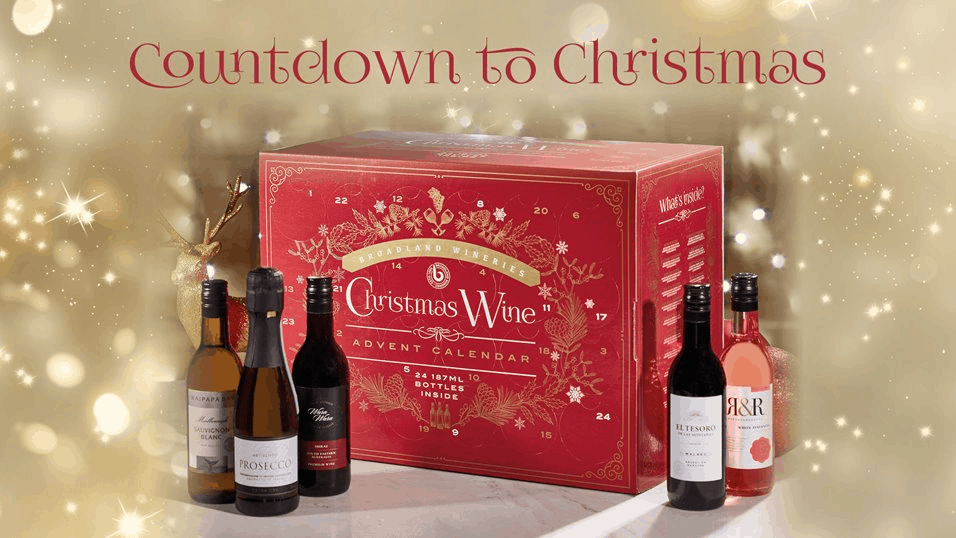 2019 Broadland Wineries Wine Advent Calendar Coming Soon!