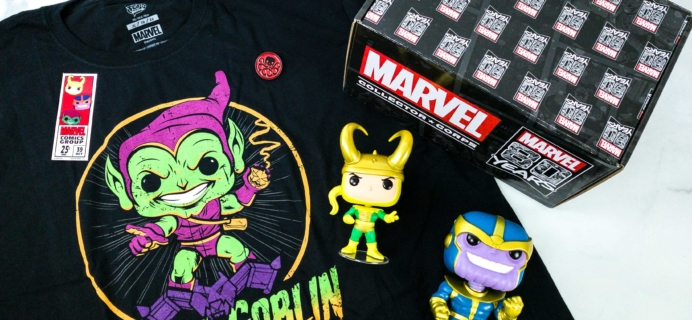 Marvel Collector Corps September 2019 Subscription Box Review – Marvel 80 Years