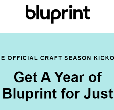Bluprint Sale:  Get Annual Bluprint Subscription & More For Only $59.99!