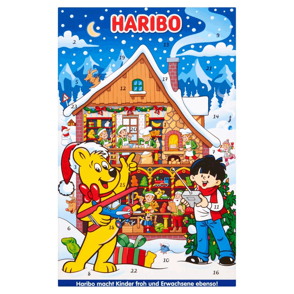 2019 Haribo Advent Calendar Available Now + Coupon! - hello subscription