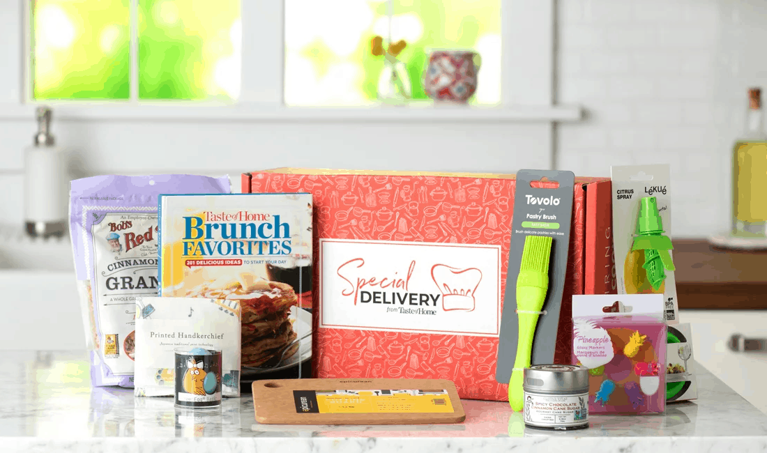 New Subscription Boxes: Special Delivery From Taste of Home Available Now + Coupon!