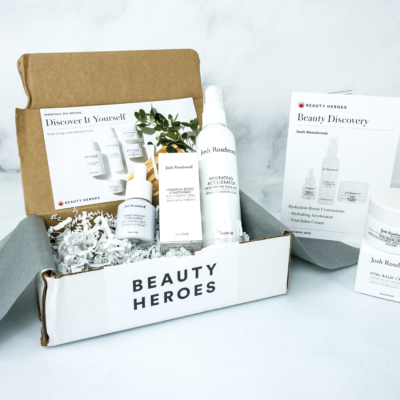 Beauty Heroes October 2019 Subscription Box Review