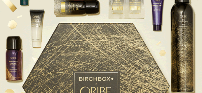 Birchbox x Oribe 2.0 Limited Edition Box Available Now + Coupon!