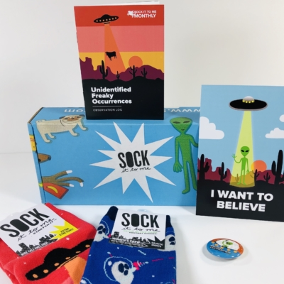 Sock It to Me October 2019 Subscription Box Review + Coupon