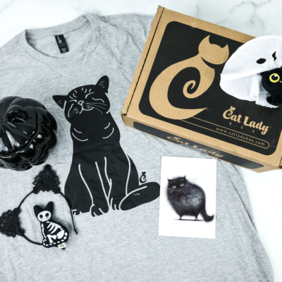 Cat Lady Box October 2019 Subscription Box Review