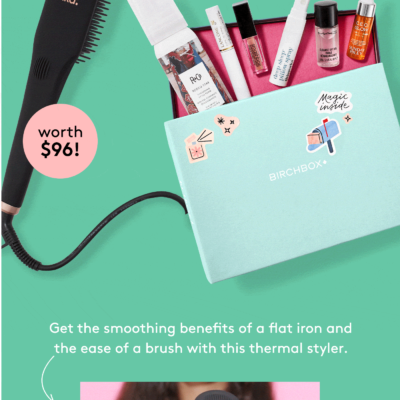 Birchbox Coupon: FREE amika Polished Perfection Straightening Brush!