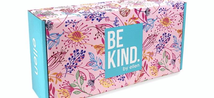 BE KIND by Ellen Box Subscription Update + Coupon!