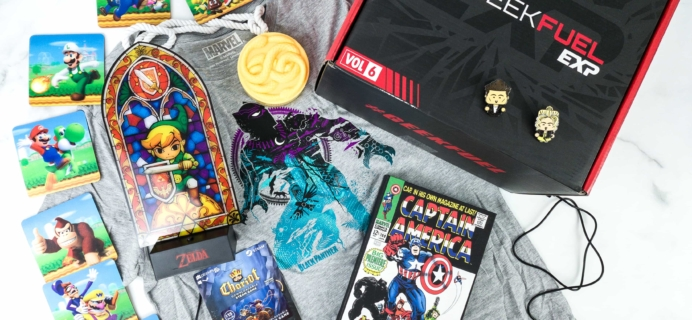 Geek Fuel EXP Fall 2019 Subscription Box Review – Volume 6