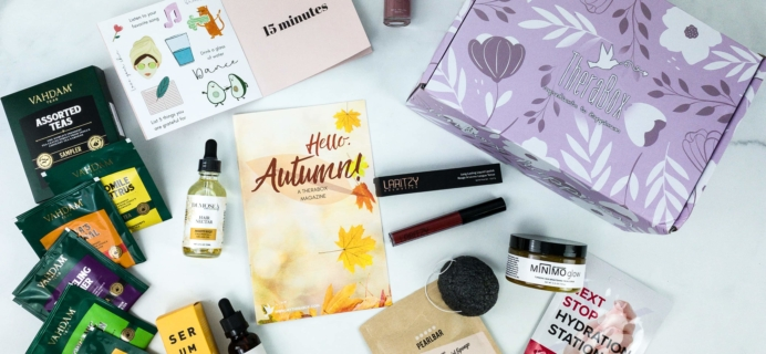 TheraBox September 2019 Subscription Box Review + Coupon